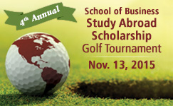 School of Business Study Abroad Scholarship Golf Tournament